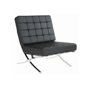 Marco Lounge Chair - Black