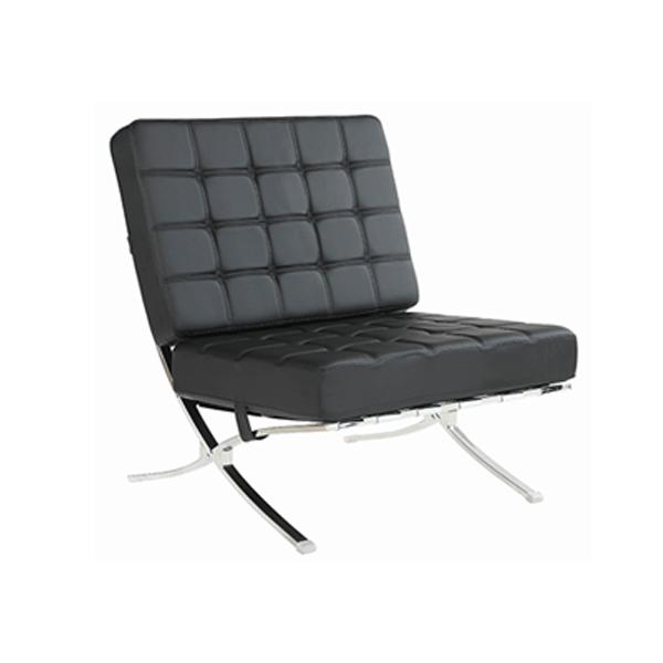 Marco Lounge Chair - Black