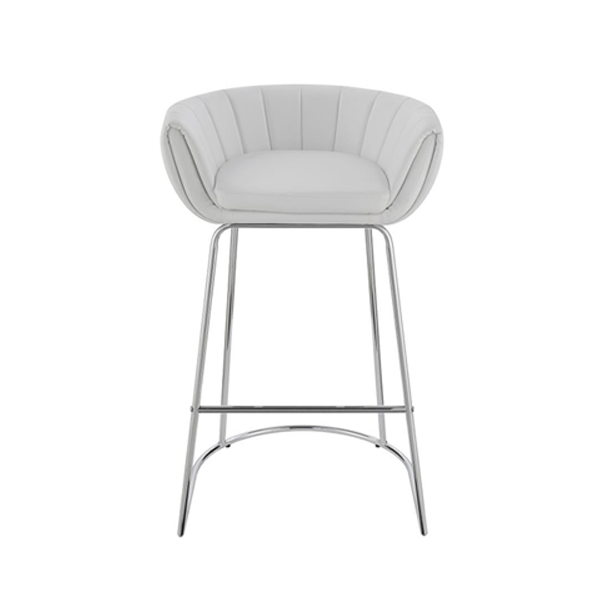 Mitch Bar Stool - White