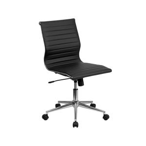 Motto Armless Office Chair - Black