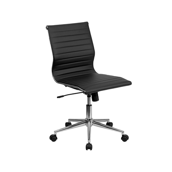 Motto Armless Office Chair - Black