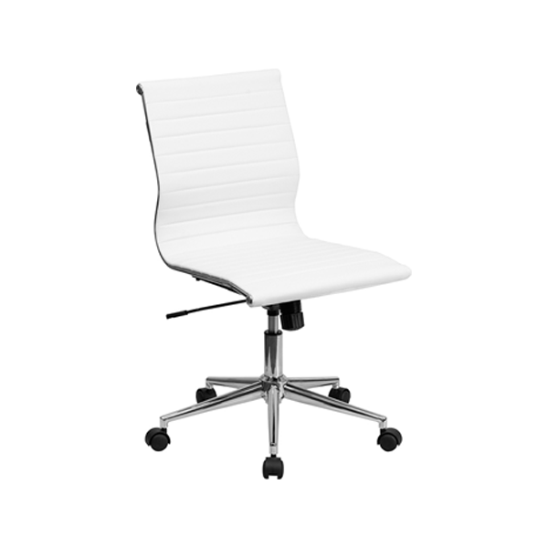 Motto Armless Office Chair - White
