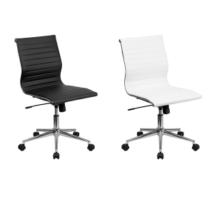 Motto Armless Office Chairs - V-Decor Trade Show Furniture Rentals in Las Vegas