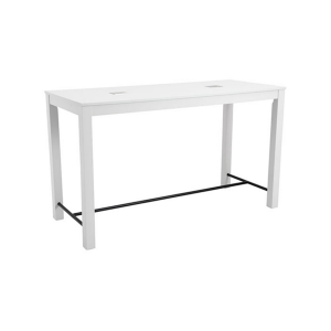 Volt Odin USB Bar Table - White