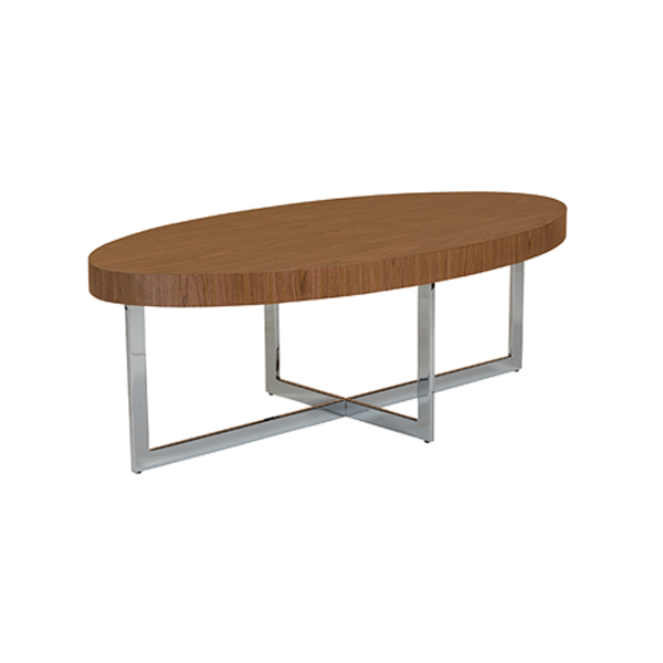 Oliver Cocktail Table - Walnut