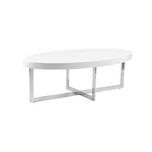 Oliver Cocktail Table - White