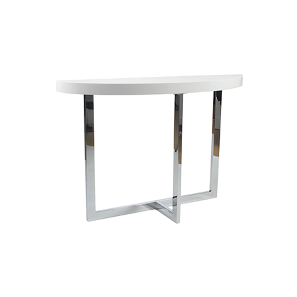 Oliver Sofa Table - White
