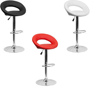 Pluto Bar Stools - V-Decor Trade Show Furniture Rentals