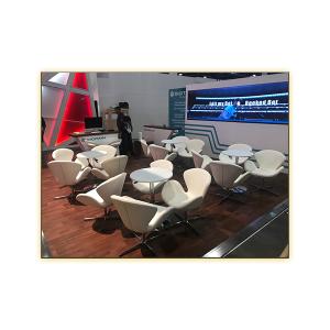 Pori White Lounge Chairs