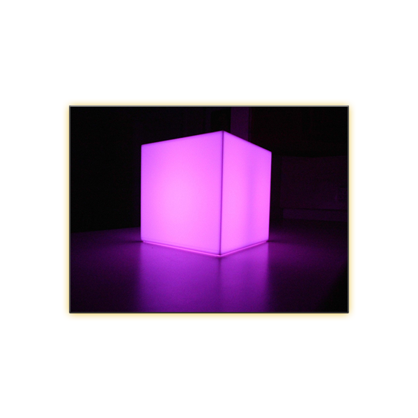 Radiance LED Cube - 12in - V-Decor Trade Show Furniture Rentals in Las Vegas