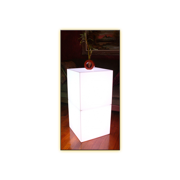 Radiance LED Cube - 18in - Stacked