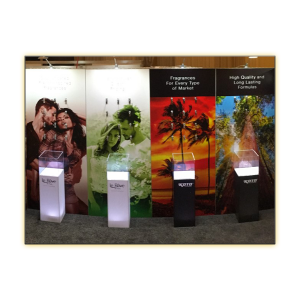 Radiance LED Plexi Display Column - V-Decor Trade Show Furniture Rentals in Las Vegas