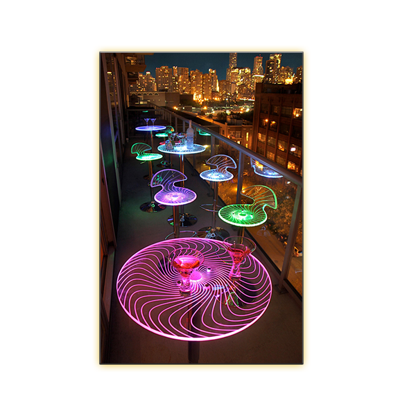 Radiance LED Spiral Collection