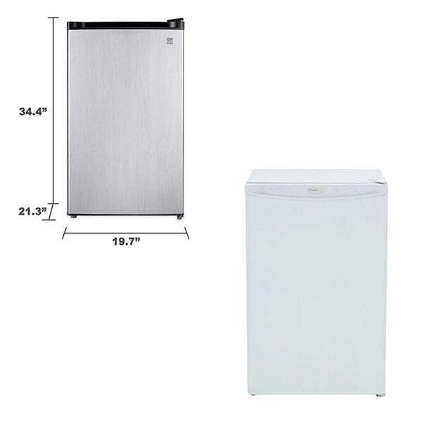 Refrigerator - 4.4CF - V-Decor Trade Show Furniture Rentals in Las Vegas