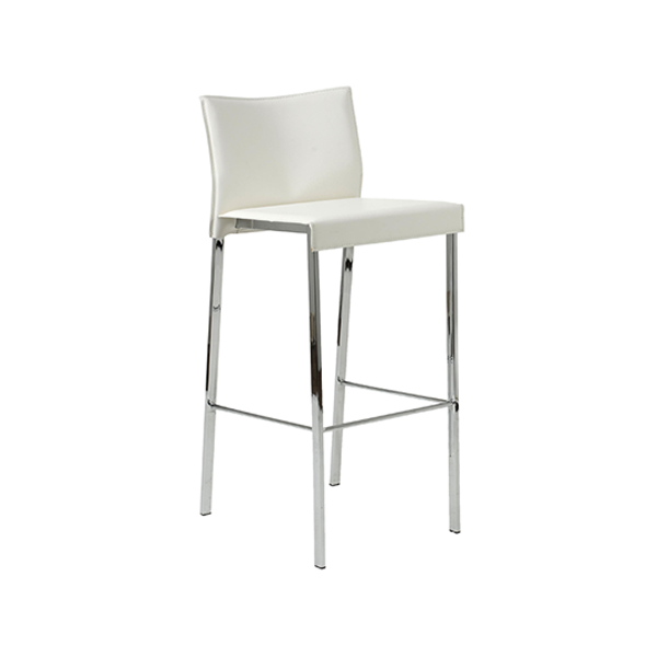 Riley Bar Stool - White