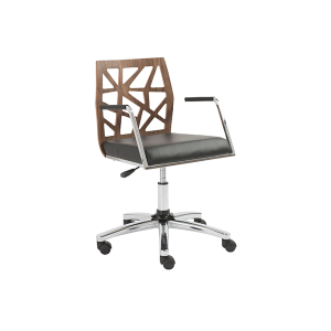 Sophia Office Chair - V-Decor Trade Show Furniture Rentals in Las Vegas