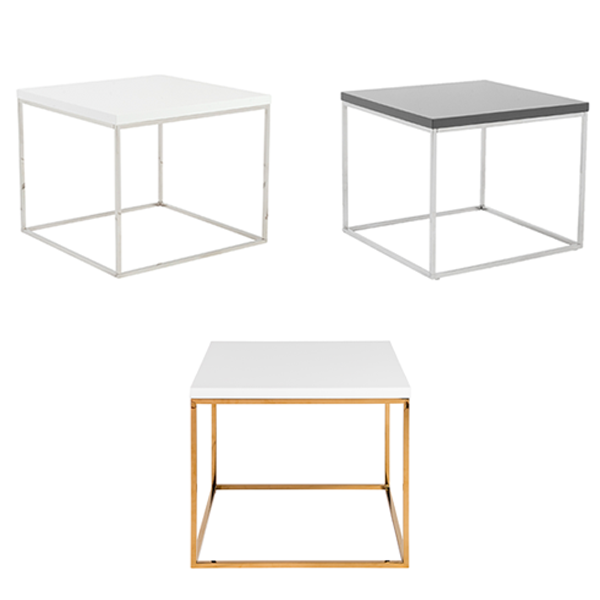 Teresa End Tables - V-Decor Trade Show Furniture Rentals in Las Vegas