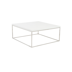 Teresa Square Cocktail Table - White