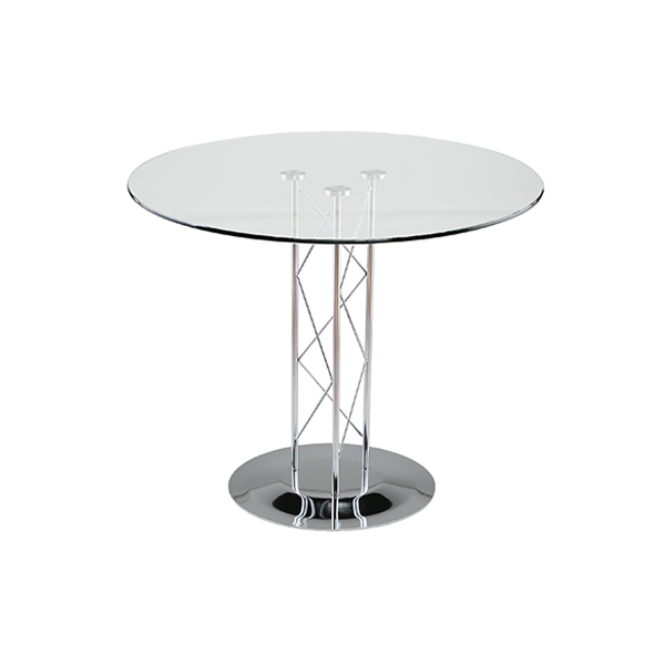 Trave 32in Cafe Table - V-Decor Trade Show Furniture Rentals in Las Vegas