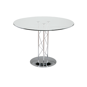 Trave 36in Cafe Table - V-Decor Trade Show Furniture Rentals in Las Vegas