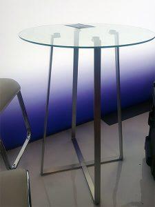 Ursula Bar Table - AAOS 2019 - V-Decor Trade Show Furniture Rentals in Las Vegas