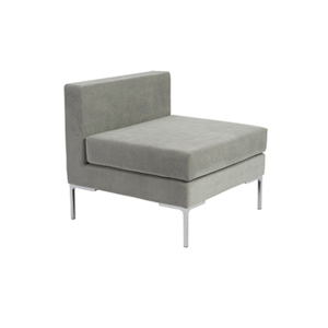 Vittorio Armless Sofa - Light Gray