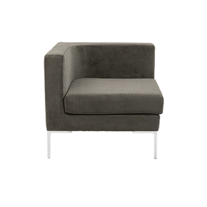 Vittorio Sofa with Arms - Dark Gray