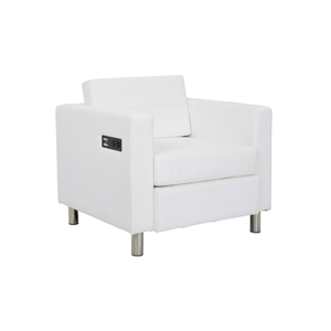 Volt Bay Chair - White