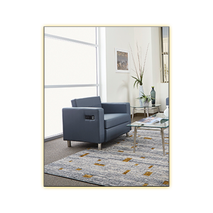 Volt Bay Collection - Blue Chair