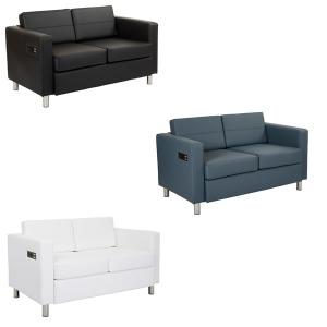 Volt Bay Loveseats - V-Decor Trade Show Furniture Rentals in Las Vegas