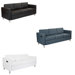 Volt Bay Sofas - V-Decor Trade Show Furniture Rentals in Las Vegas
