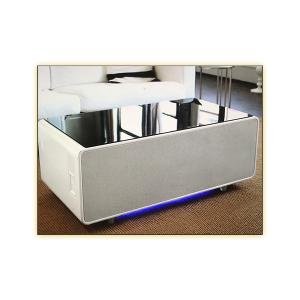 Volt Sobro Table - White - LED Light