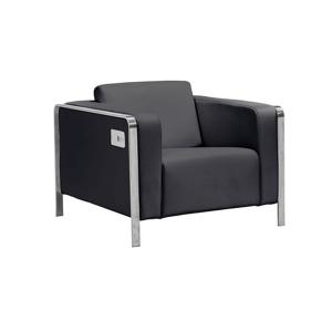 Volt USB Arm Chair - Black
