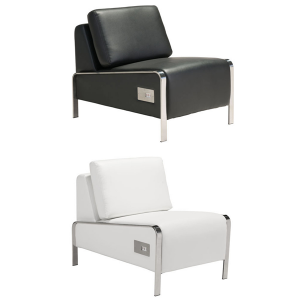 Volt USB Armless Chairs - V-Decor Trade Show Furniture Rentals in Las Vegas