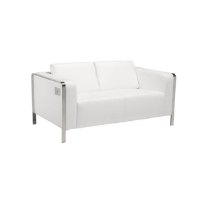 Volt USB Loveseat - White