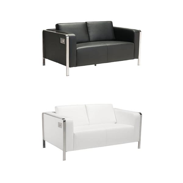 Volt USB Loveseats - V-Decor Trade Show Furniture Rentals in Las Vegas