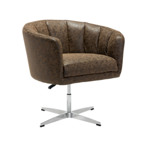 Wilshire Lounge Chair - Brown