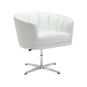 Wilshire Lounge Chair - White