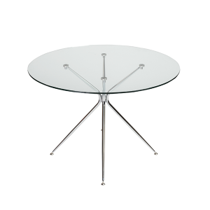Atos Round Cafe Table - V-Decor Trade Show Furniture Rentals in Las Vegas