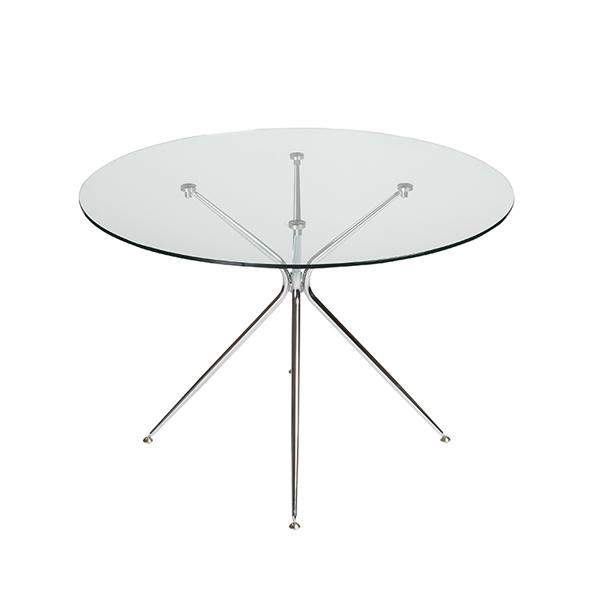 Atos Round Cafe Table - V-Decor Trade Show Furniture Rentals in Las Vegas