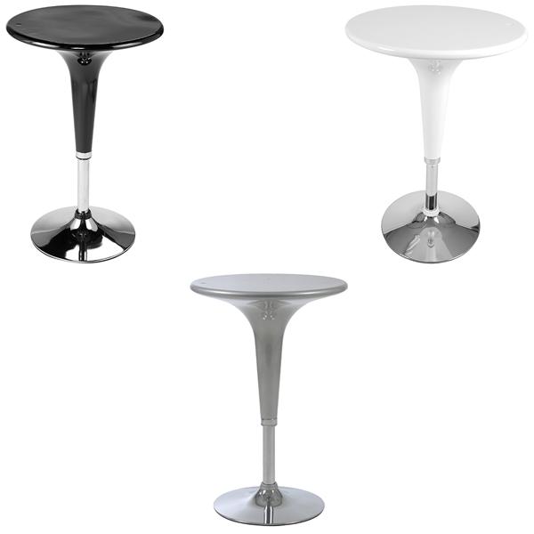 Clyde Adjustable Bar Tables - V-Decor Trade Show Furniture Rentals in Las Vegas