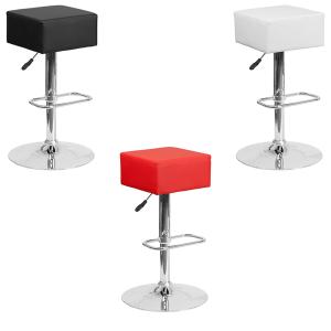 Cube Bar Stools V-Decor Trade Show Furniture Rentals