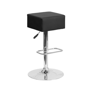 Cube Bar Stools - Black