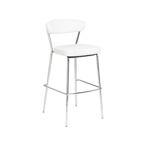 Draco Bar Stool - White