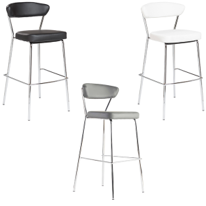 Draco Bar Stools - V-Decor Trade Show Furniture Rentals