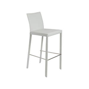 Hasina Bar Stool - White