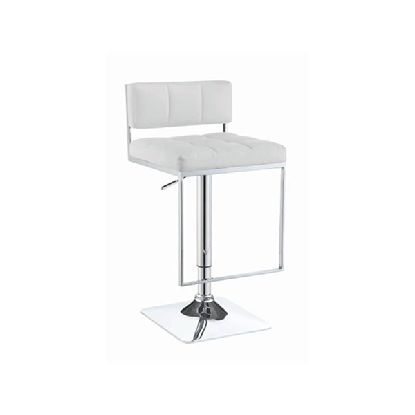 Levi Bar Stool - White