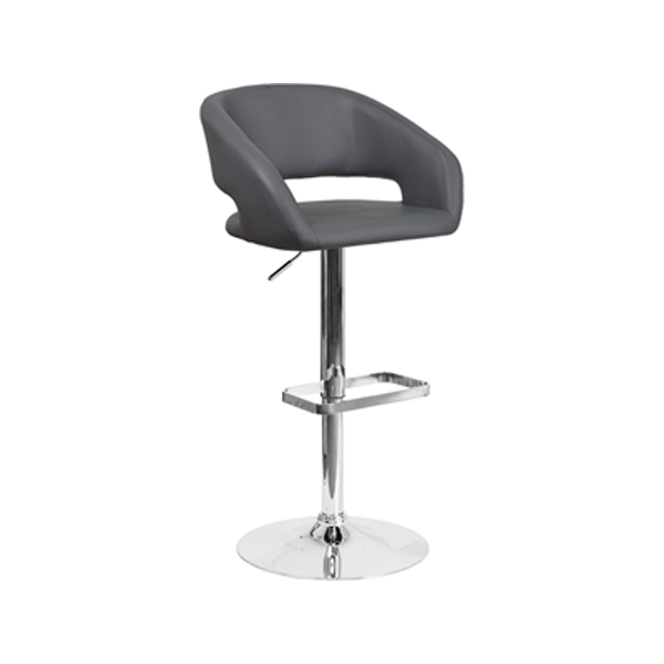 Mod Bar Stool - Gray
