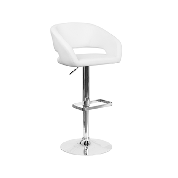 Mod Bar Stool - White