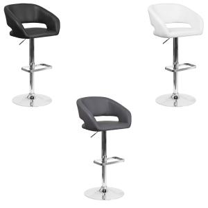 Mod Bar Stools - V-Decor Trade Show Furniture Rentals